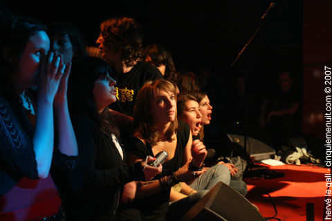 les filles au concert de hushpuppies au vauban brest