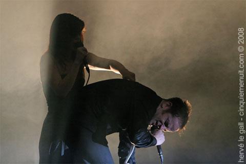 concert de dionysos art rock festival 2008