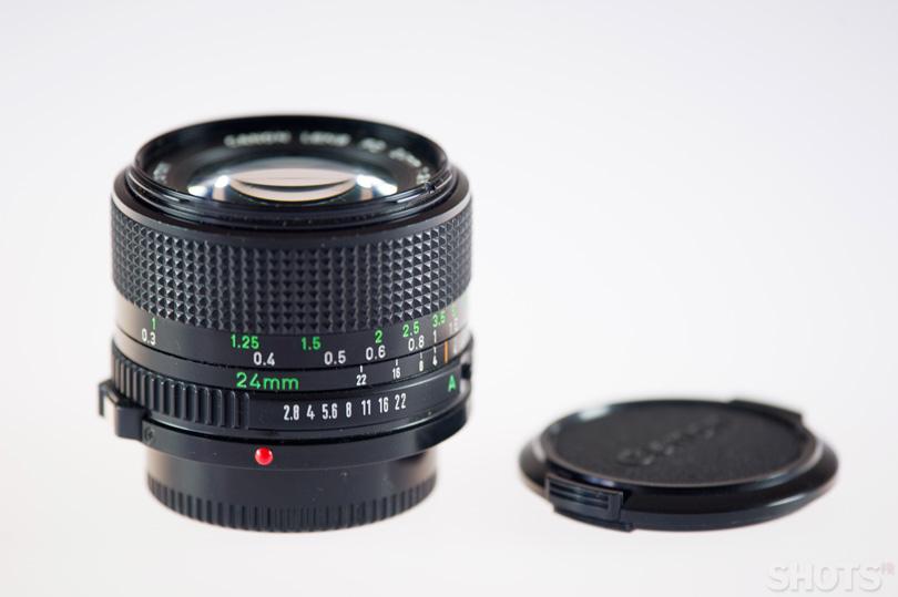 Canon FD 24mm f/2.8 photo occasion SHOTS