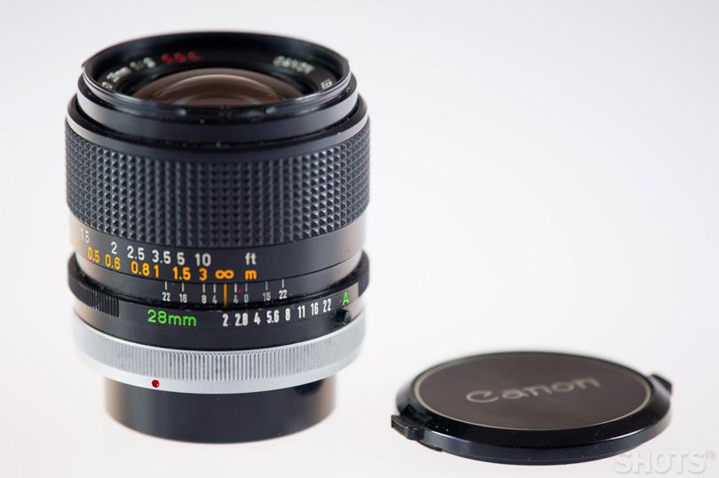 Canon FD 28mm f/2 photo occasion SHOTS