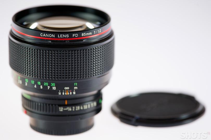 Canon FD 85mm f/1.2L photo occasion SHOTS