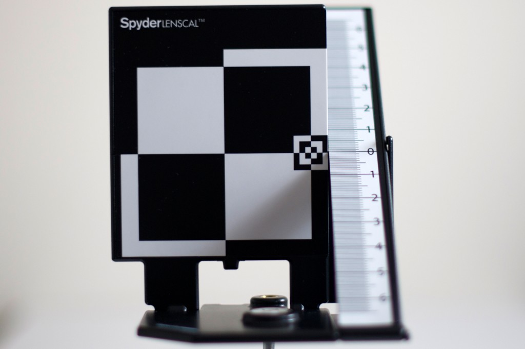 test datacolor spyderlenscal apres calibration