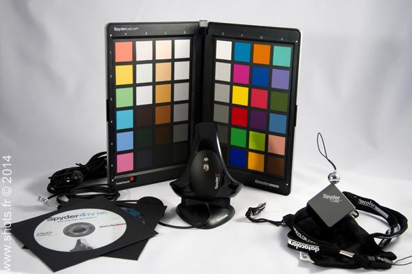 datacolor spyderHG outils de calibration Shots