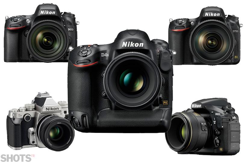 la gamme plein format Nikon photo numérique