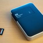 Tout savoir sur WD My Passport Wireless, le disque dur autonome, multimédia, wifi, videur de cartes.