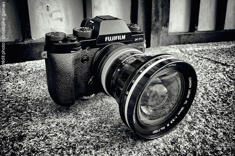 rencontre entre une optique canon et un boitier fujifilm