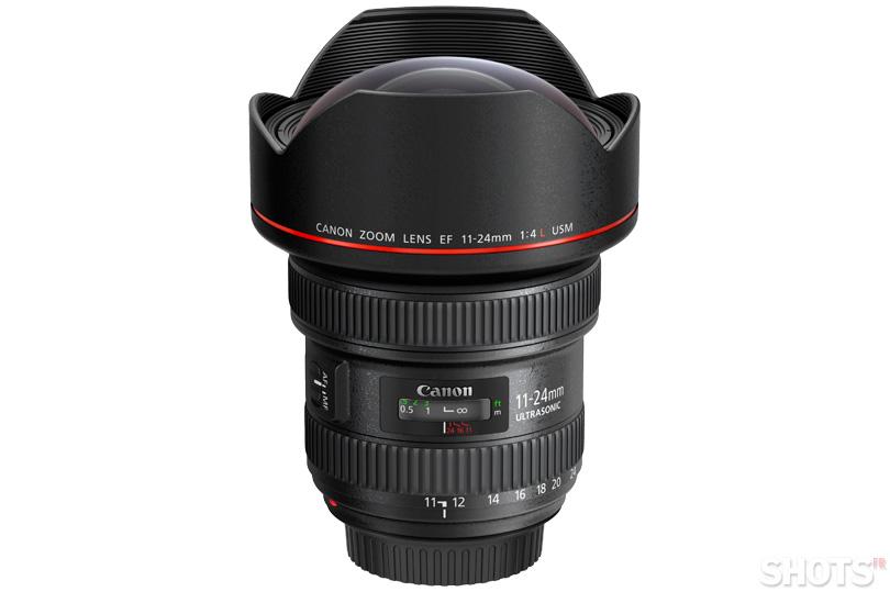 Canon annonce un ultra grand angle 11-24 f4 SHOTS