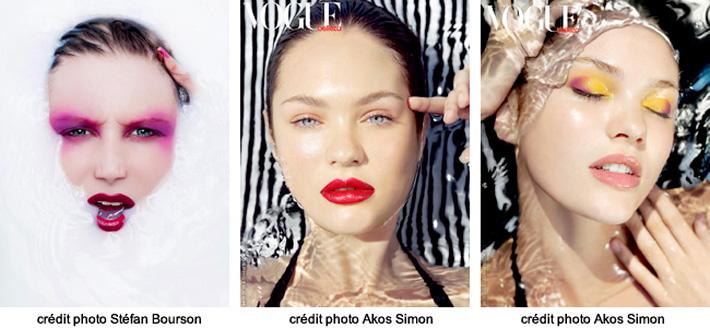 exemples de portraits immergés sur SHOTS