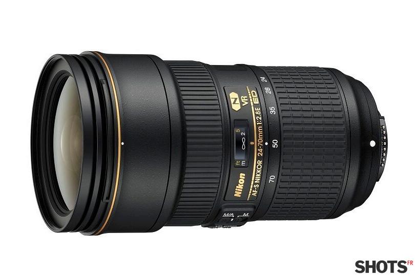Nouveau Nikkor 24-70mm f/2.8 VR sur SHOTS