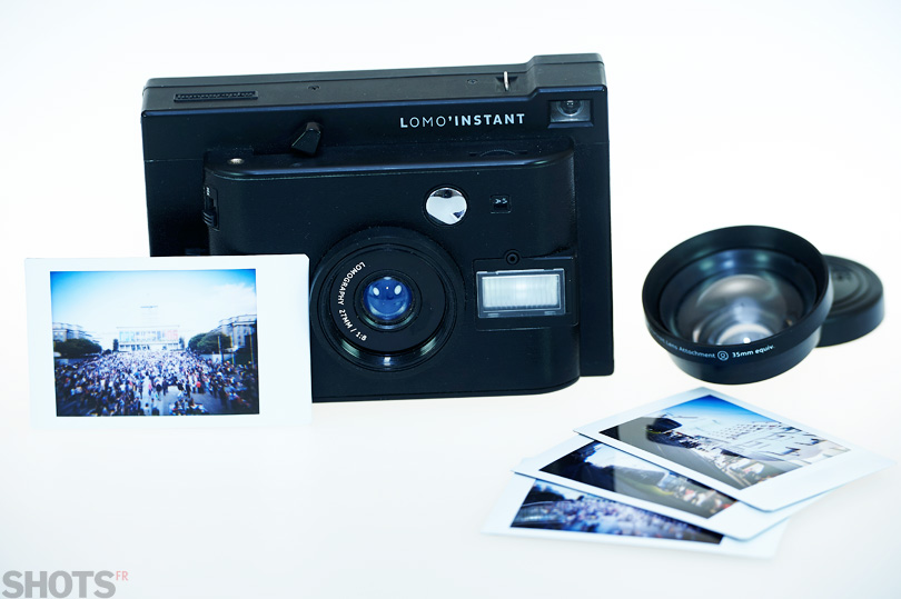 lomo instant photo instantanée SHOTS