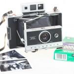 Polaroid 250 et film Fuji FP-3000B, la magie de l'instant.
