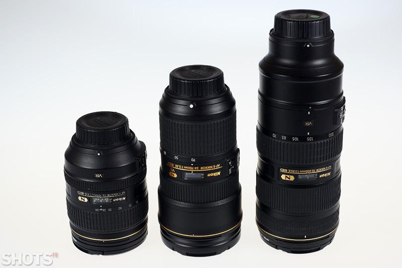 comparatif optiques Nikkor