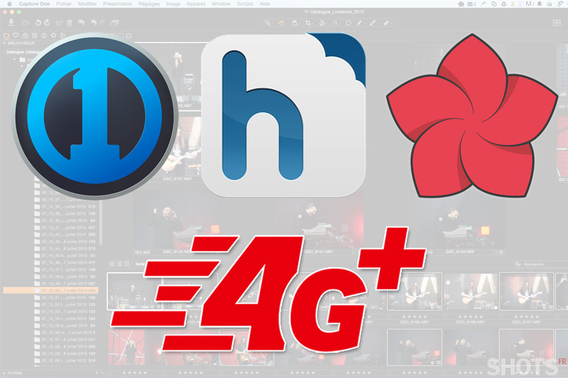 sauvegarde hubic en 4G via capture one pro et expandrive
