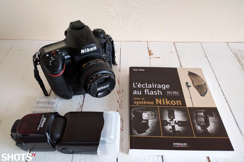 éclairage au flash avec le système Nikon SHOTS