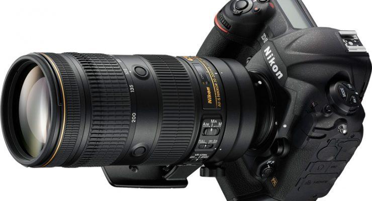 nouveau nikkor 70-200mm f2.8E FL lentille fluorine