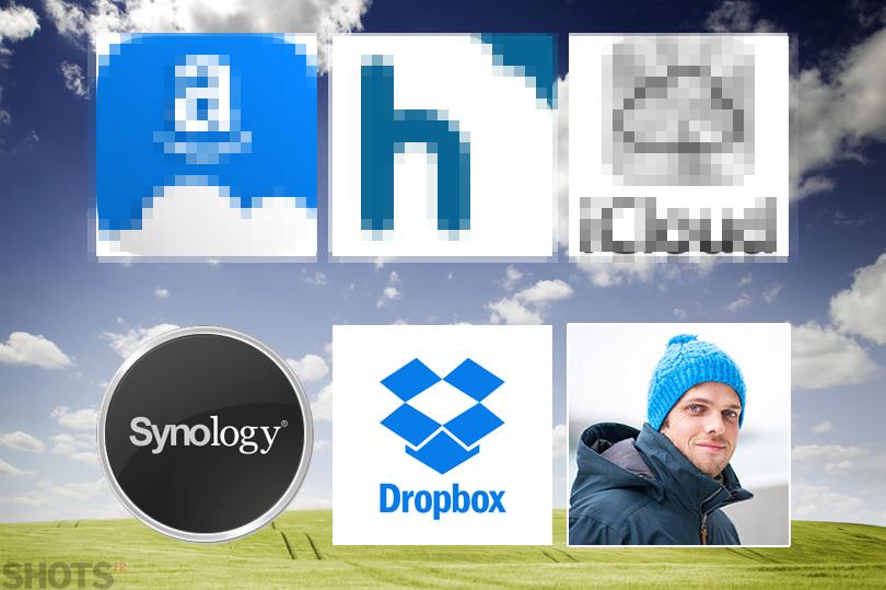 cloud pour les photographes NAS Synology et Dropbox