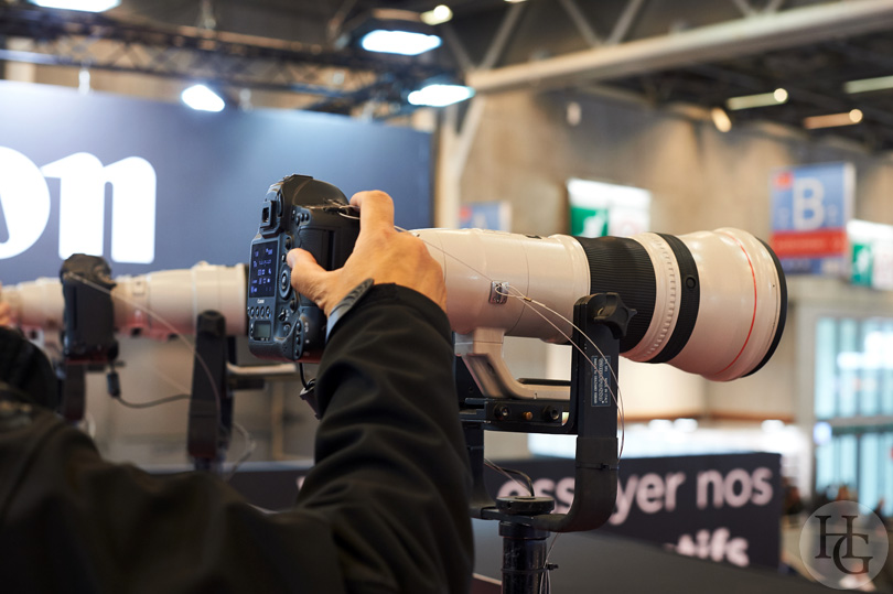 optiques Canon au salon de la photo 2016