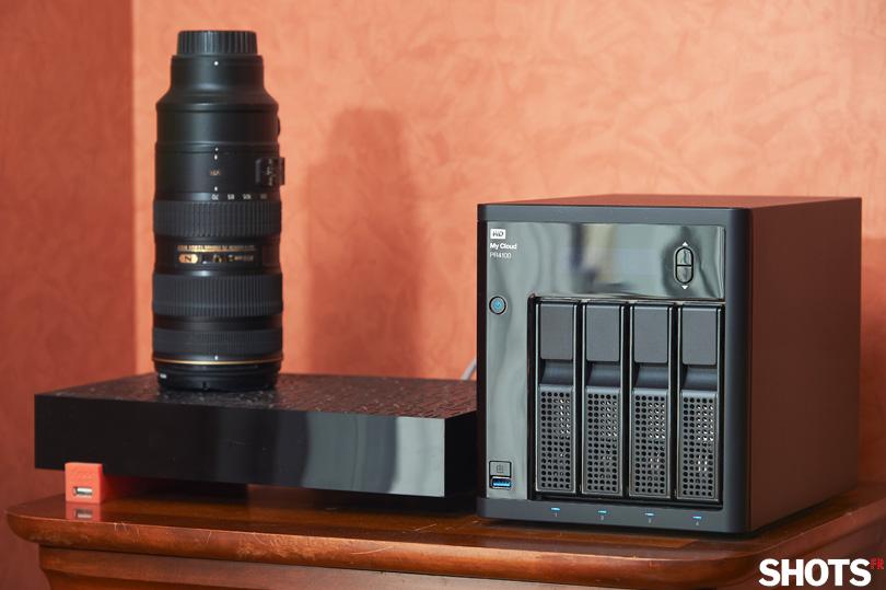 NAS My Cloud Serie Pro WD PR4100