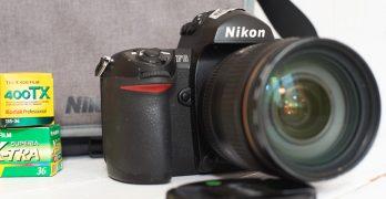 Nikon F6 test terrain. Je suis de retour du futur.