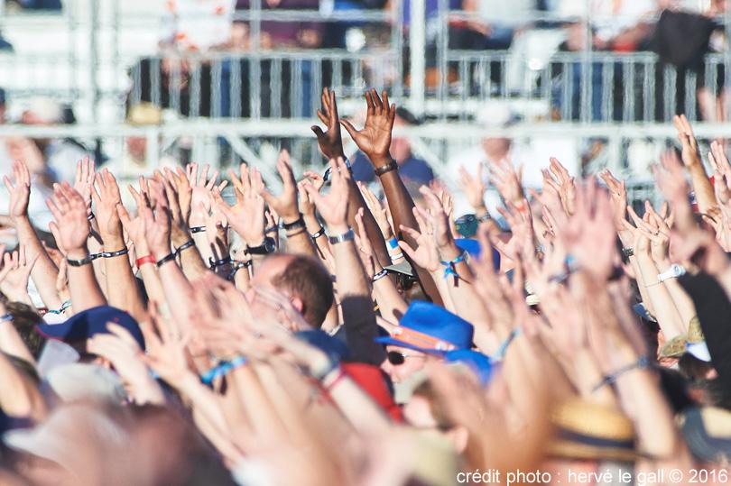 festival les vieilles charrues tous ensemble crédit photo hervé le gall