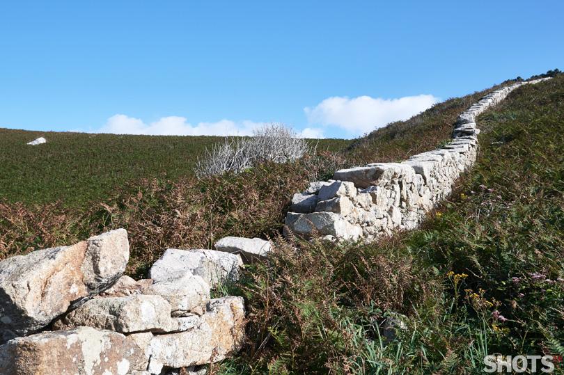 mur de pierre pointe du millet nikon D500