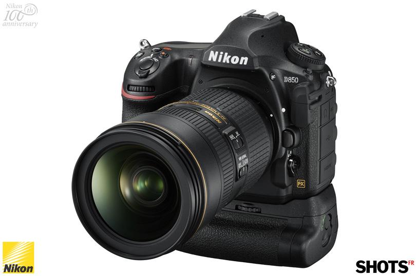 nouveau reflex Nikon D850 a decouvrir sur SHOTS
