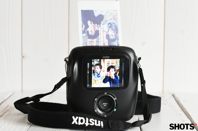 developpement du film instax SQ10 format square