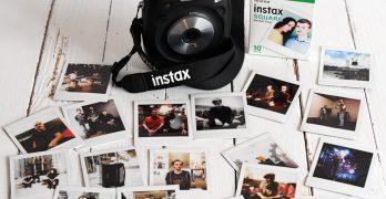 Une photo magique à Atlantique Jazz festival avec Fujifilm Instax SQ10