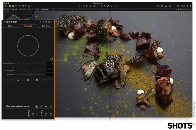 capture one pro 11 edition des couleurs