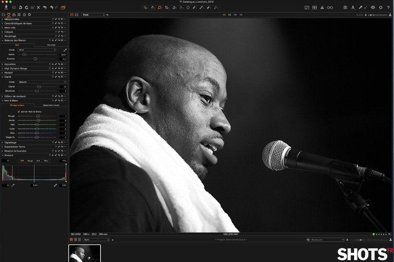 test capture one pro 11 sur SHOTS