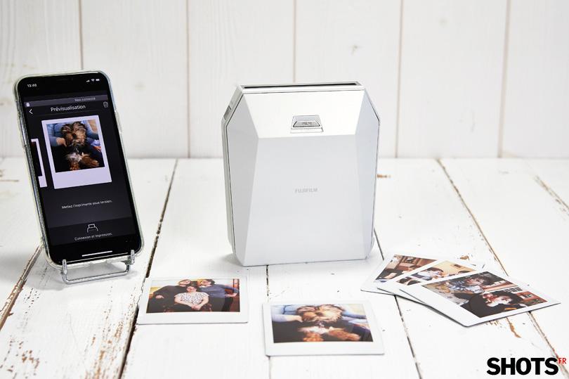 Test matériel Imprimante Instax Square SP-3