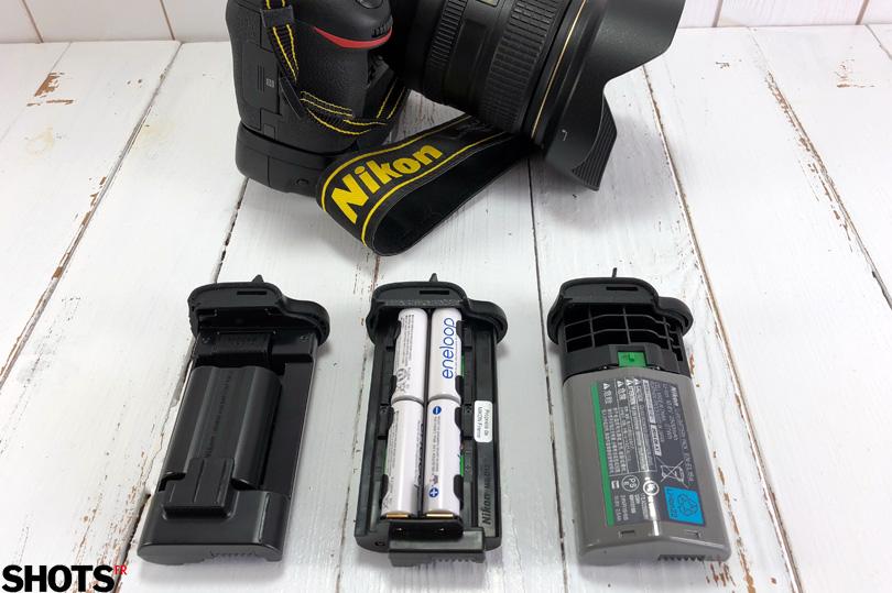 les batteries pour le grip Nikon MB-D17
