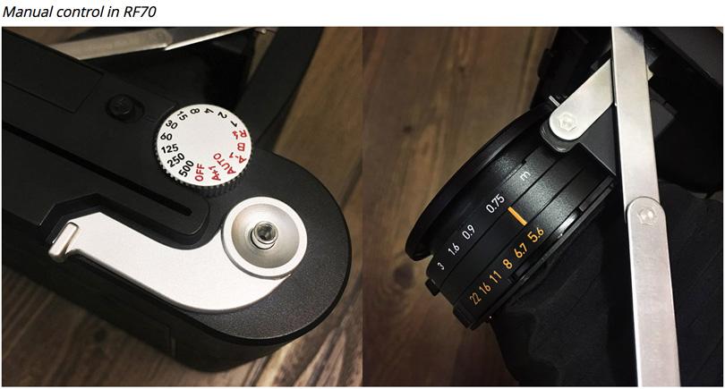 Un appareil photo MINT RF70 au format Instax wide en mode 100% manuel bientôt disponible