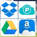 Sauvegarde cloud l'heure du choix. Dropbox, pCloud, Google drive, Amazon drive.