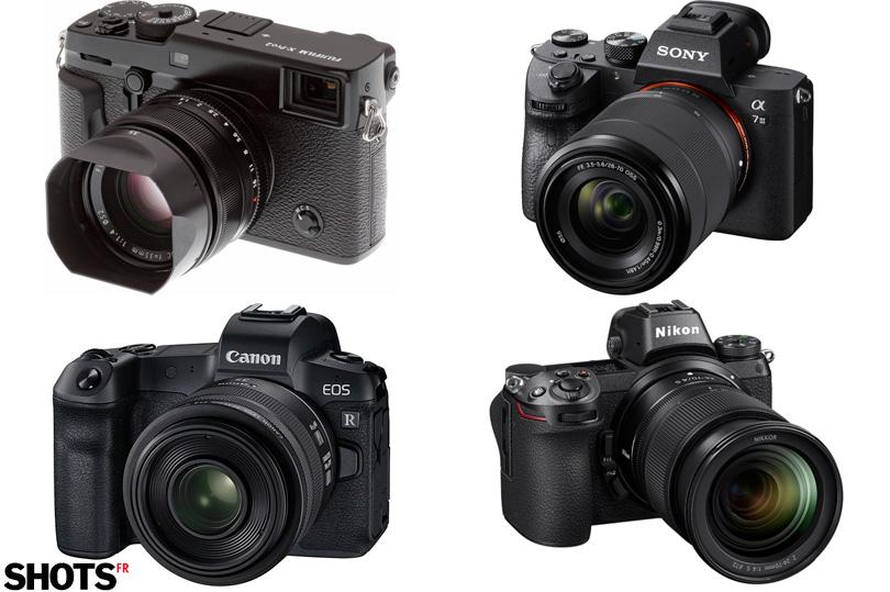 Hybrides Fuji, Sony, Canon, Nikon. Réalités et perspectives pour 2019.