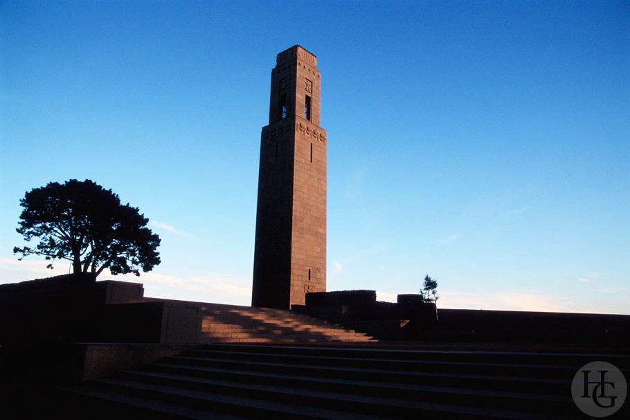monument américain de Brest Ektachrome 100 par Hervé Le Gall