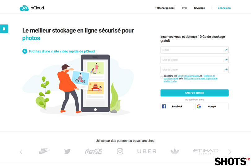 Top SHOTS les indispensables : pCloud le must du cloud en ligne