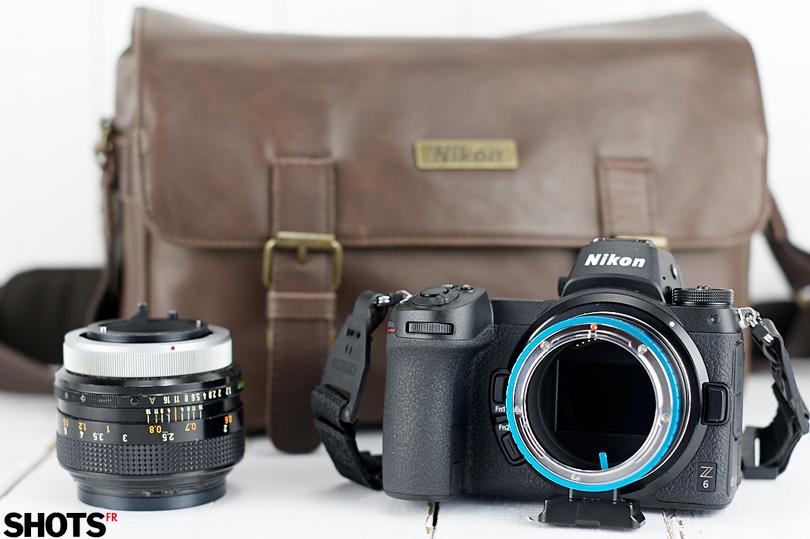 Optique Canon sur Nikon Z6