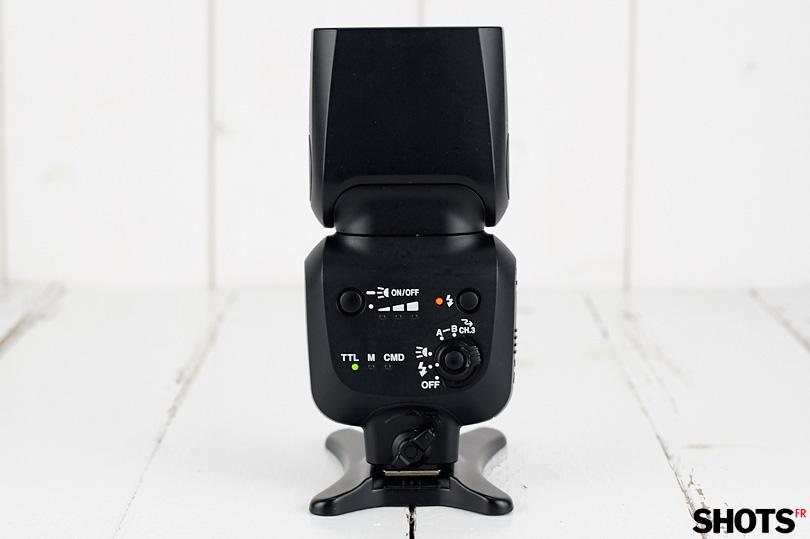 panneau de controle du flash nikon sb-500