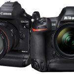 Mirrorless plein format VS visée reflex. Nikon D6, EOS 1Dx Mark III seront-ils les derniers des Mohicans ?