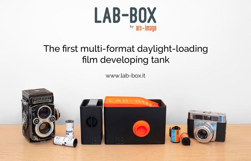 Lab box developpement pellicule noir et blanc