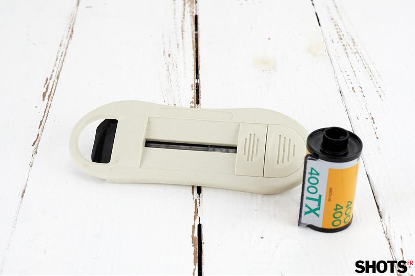 extracteur de film pour récupérer l'amorce facilement