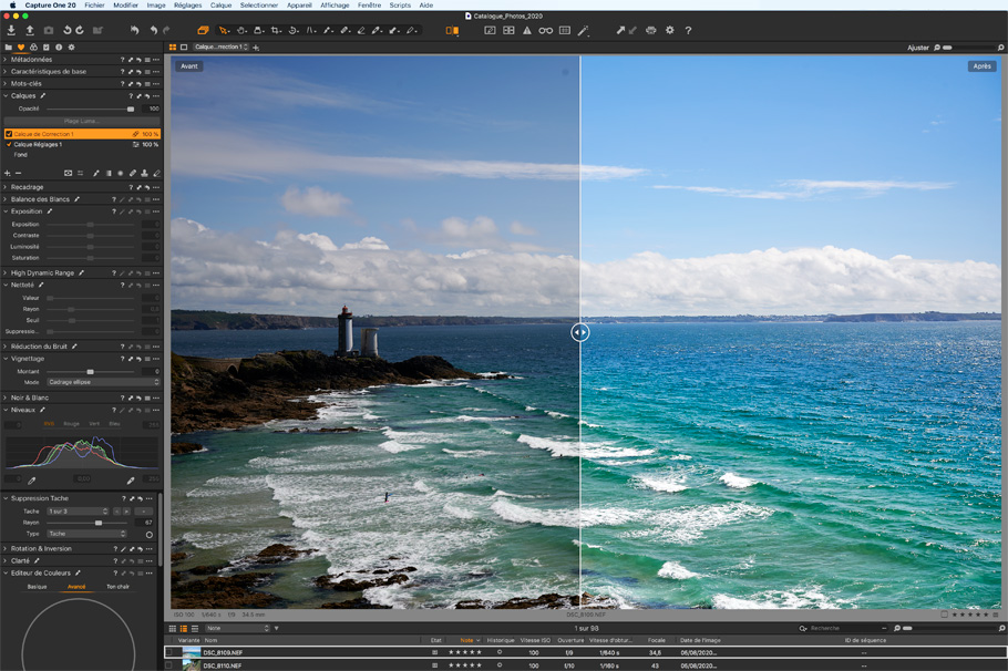 capture one pro 20 editing
