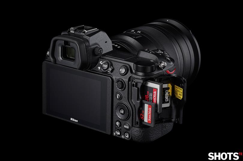 Nikon Z6 II lecteur double slot