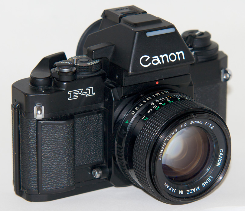 boîtiers argentiques Canon New F1 un reflex professionnel de référence